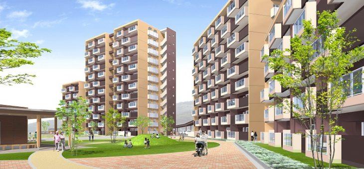 県営熊野住宅1期工事完成しました!
