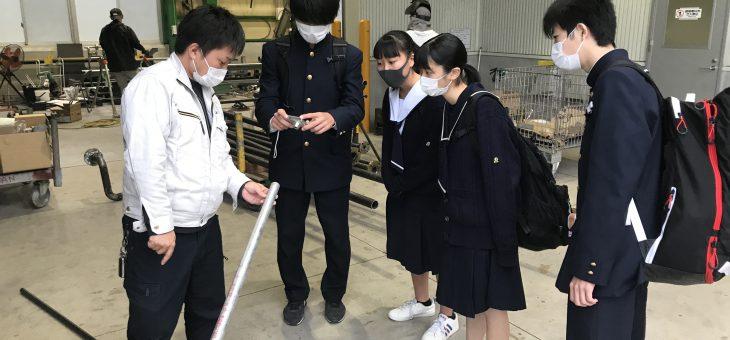 高陽高校の生徒が業界研究に来ました!